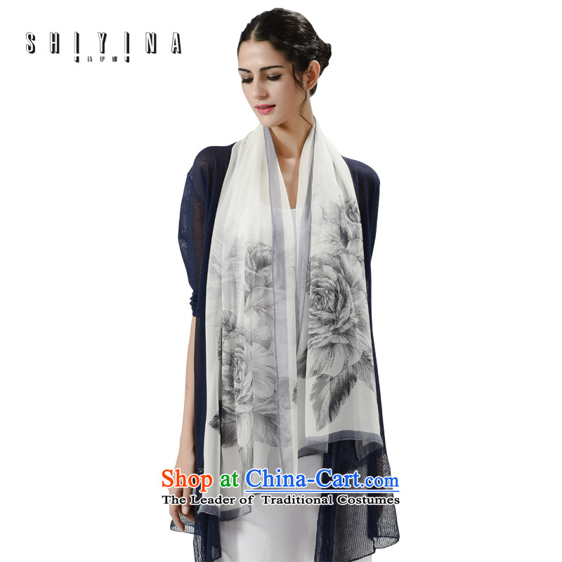 Ms Ina _shiyina_ autumn and winter silk scarf female long2015 Ms. herbs extract new silk scarfs stylish pale with two shawls
