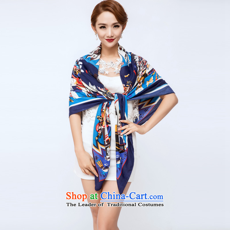 The Hacker Yan Ms. silk scarf silk scarves also sauna sunscreen shawl masks in style 3 wide 150CM* long 150CM