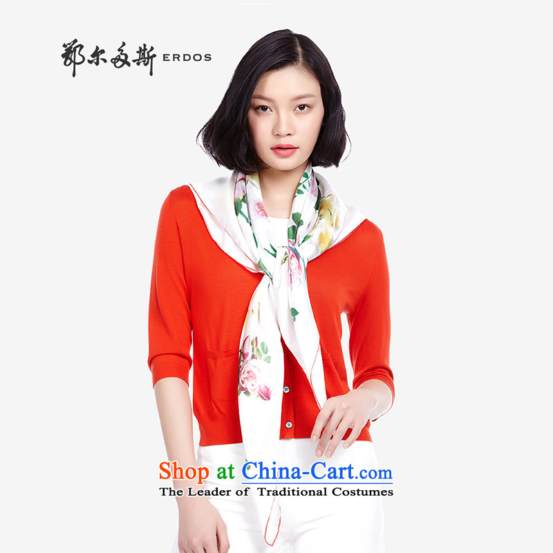 Erdos spring and summer 2015 new products, stamp duty, silk scarf shawl |8570264 + light powder toner + Flamingo Pink
