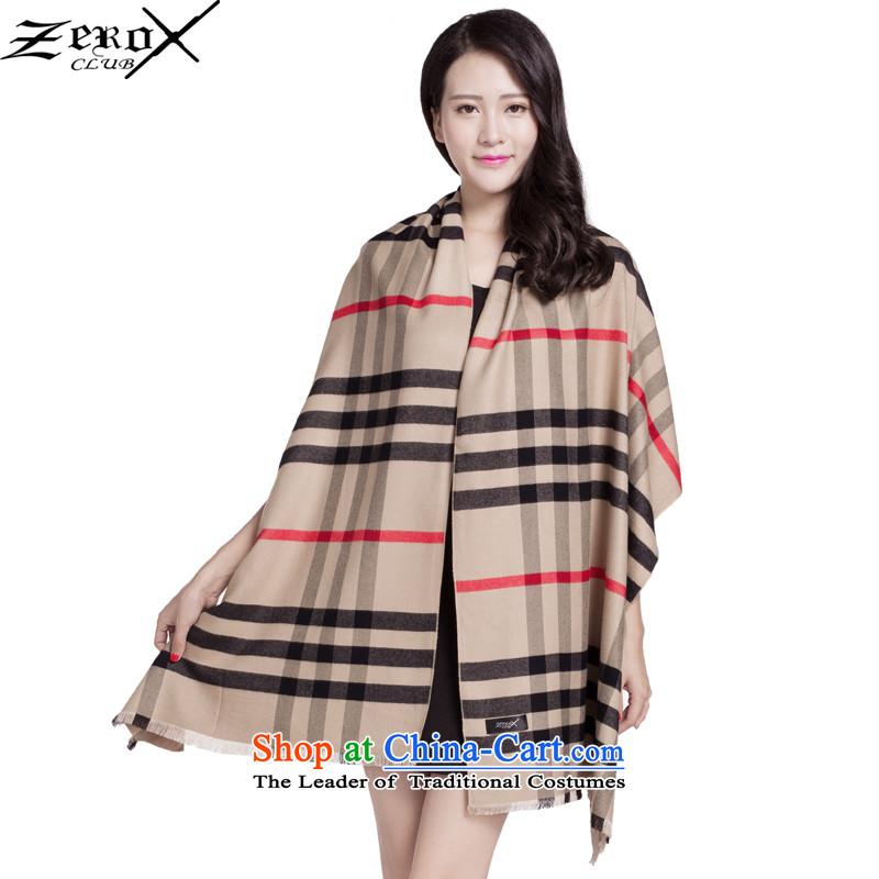 Zeroxclub autumn and winter warm a classic grid scarf female business president Fancy Scarf4313聽PJ- 815