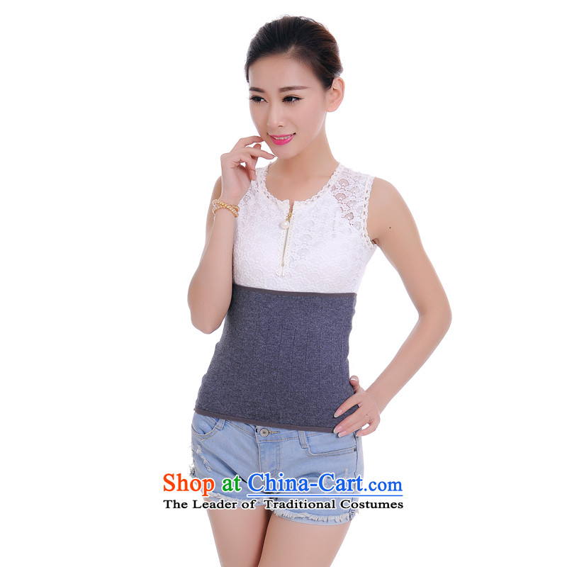 The population of2015 lint-free time, ah quarter New Low Back Support Belt breathable warm wool Back Support Belt gray are code