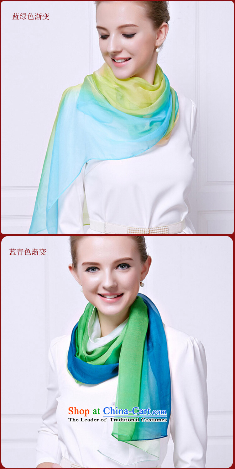 Shanghai Story counters 2015 new gradient silk scarves, herbs extract upscale scarves summer air-conditioning shawl blue pink gradient picture, prices, brand platters! The elections are supplied in the national character of distribution, so action, buy now enjoy more preferential! As soon as possible.