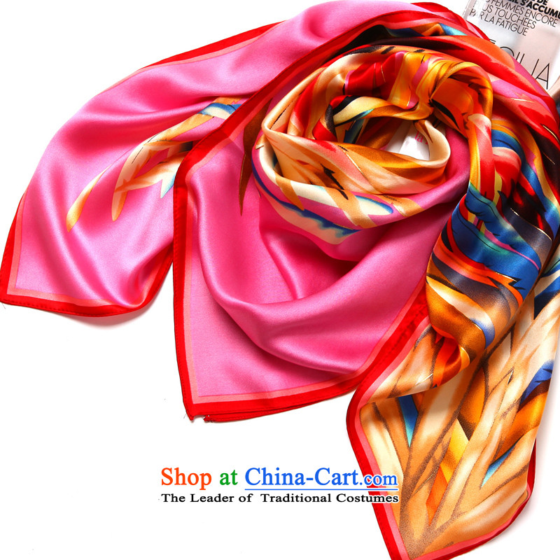 Silk Scarf shawl herbs extract female high-end gift and classy towel satin Chao Silk Road Long Yu Tysan - the toner