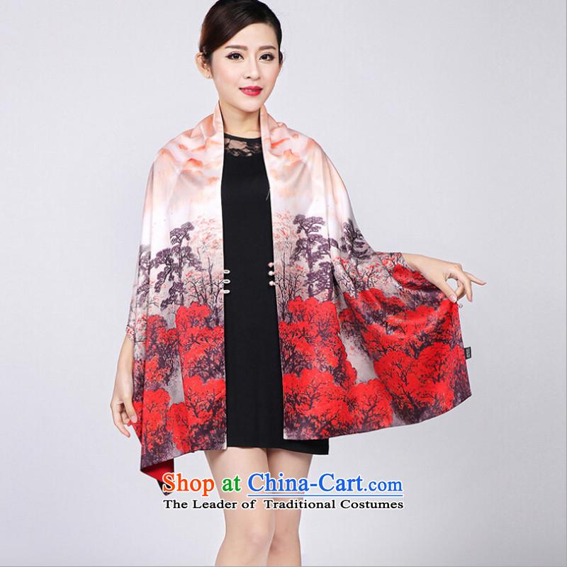 Shanghai Story new clasp shawl double emulation Ms. Sadik warm gift Scarf聽5_