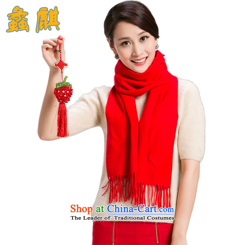 Dr Assembly2015 autumn and winter new pashmina men and women a taxi universal winter wool large red gift box style are Code 1.
