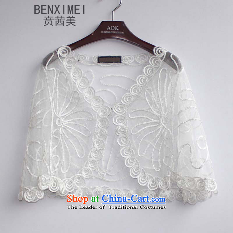 Mrs Ure American Night Ben loaded on female fluoroscopy loading wire engraving nets larger Fat MM cardigan mantle8717white are code
