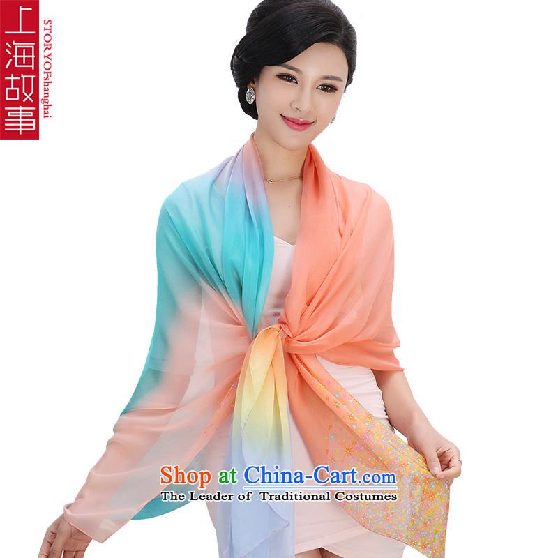 Shanghai Story silk scarves female sauna silk scarf sunscreen shawl exquisite soft 1_