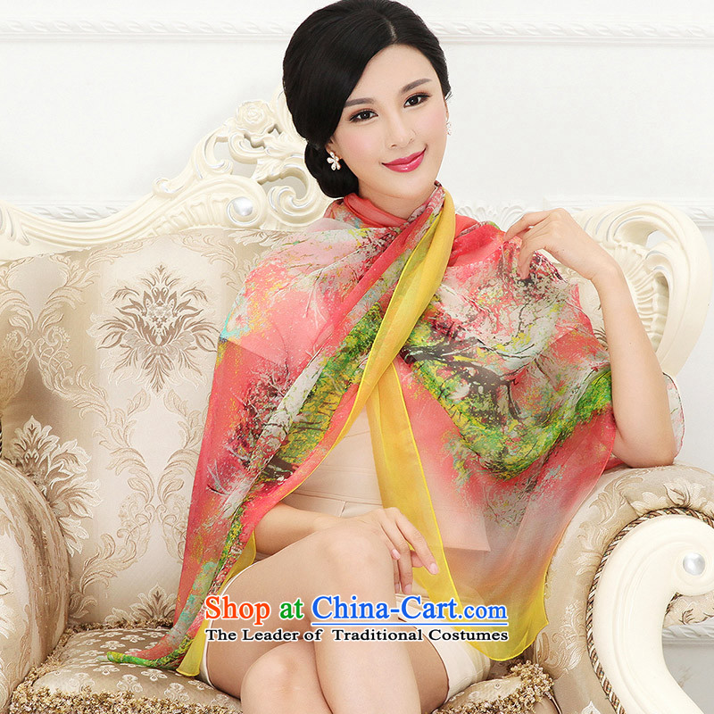 Shanghai Story silk scarves summer poster stamp herbs extract shawl scarf female RH04, Shanghai Story STORY & shanghai) , , , shopping on the Internet