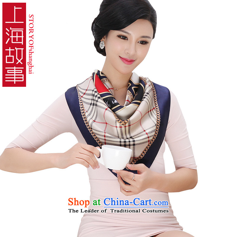 Shanghai Story silk scarves female summer and classy towel herbs extractU09 Fancy Scarf