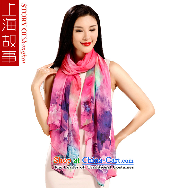 Shanghai Story, scarf sunscreen silk scarf shawl long silk scarf autumn and winter the new color Tianxiang