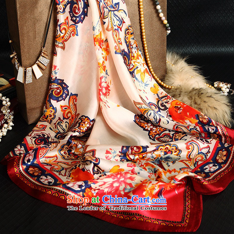 During the spring and autumn upscale herbs extract scarves, occupational silk scarf silk and classy towel聽4 - Hung-yuk wing