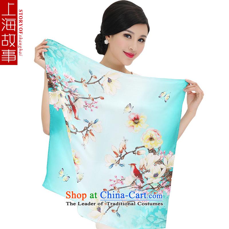 Shanghai Story Ms. gift silk scarf scarf small square cloths stylish OL Li Ren stylish3#