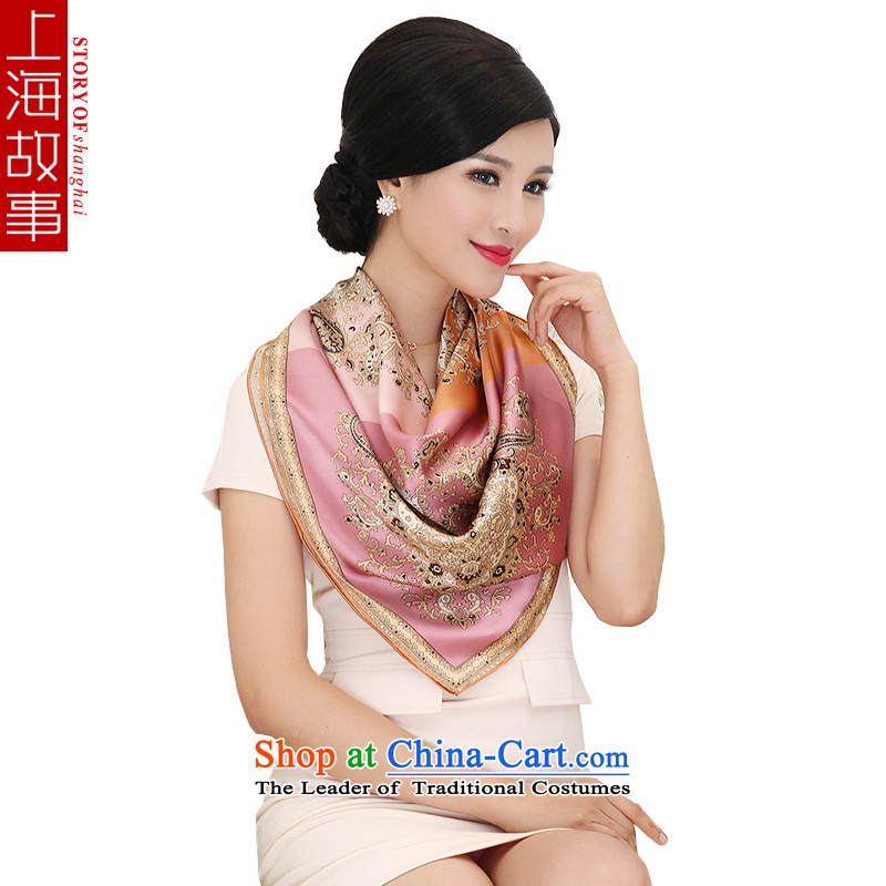 Shanghai Story silk scarf spring 2015 new products silk scarves female population of the Jurchen people fall/winter shawl and classy towelNanyi gift