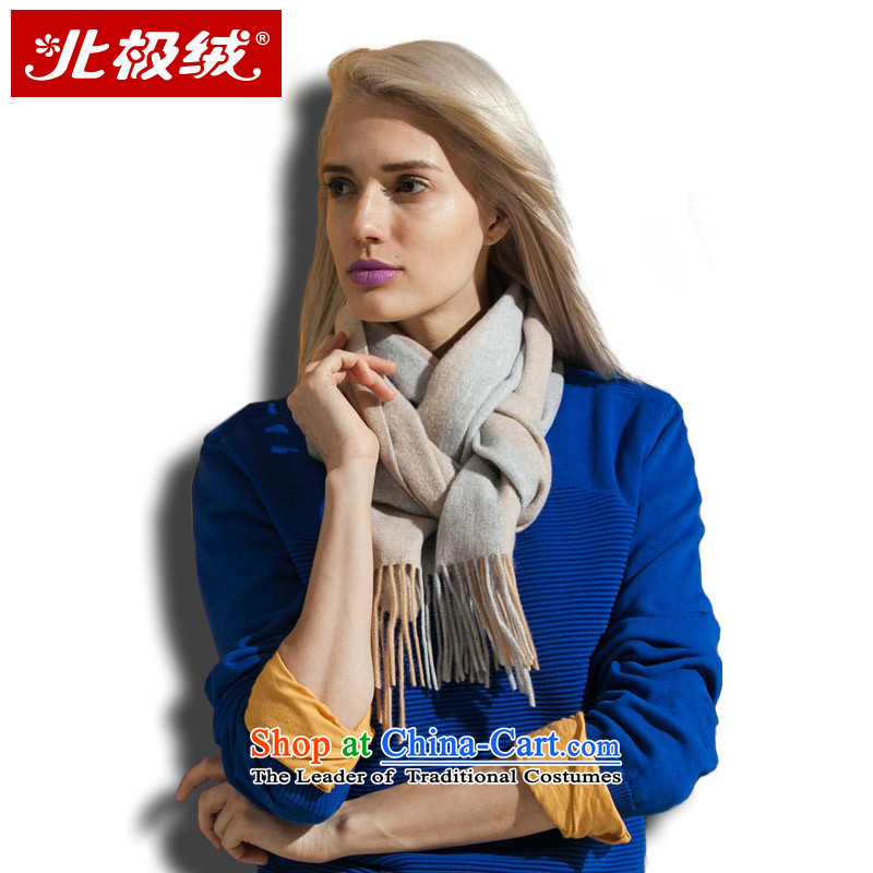 Cashmere wool blend yarn arctic lint-free water marks the end of the scarf autumn and winter warm thick gray and the Women's