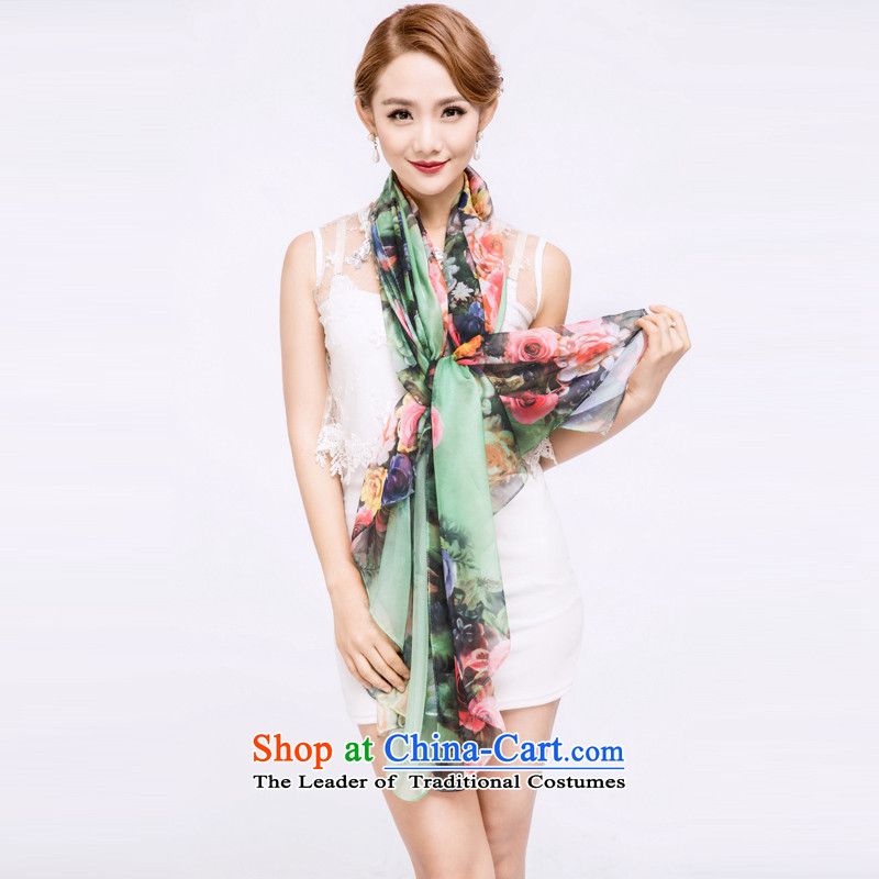 The Hacker Yan silk scarves, sauna also silk scarf shawl three color masks in the style of the rose 4 Width 180CM long 150CM*