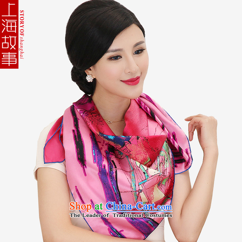 Shanghai Story silk scarves and classy towel herbs extract upscale gift shawl shawl 18_ Nixihe
