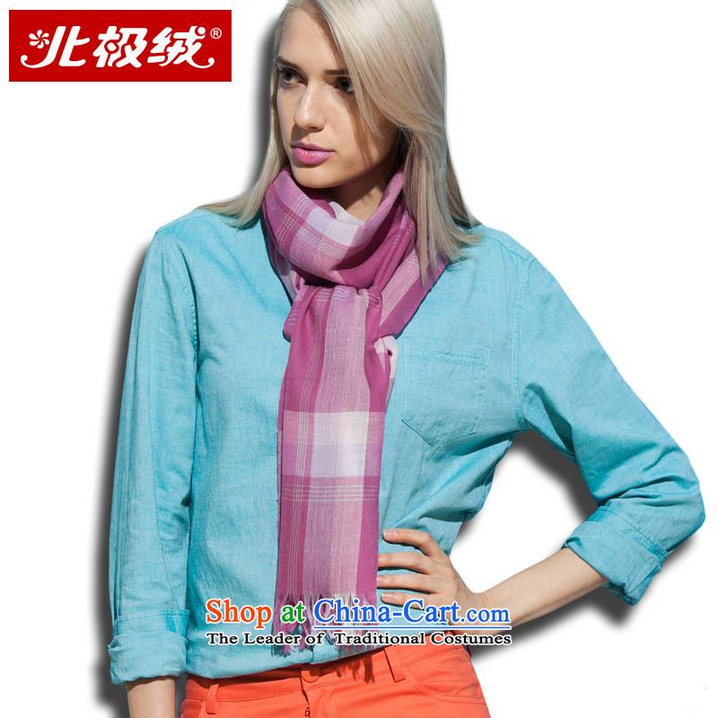 Arctic lint-free satin Fine wool spinning, scarf soft feel of female gray powder