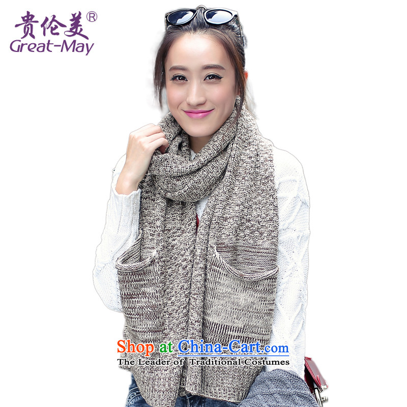 The American Girl autumn scarves, Korean winter ultra-wide thick-color knitting scarves warm winter Knitting scarves WJ0054 Ms. lady m colorway