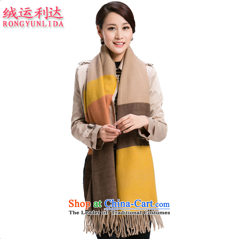Lint-free operation up to the end of the scarf cashmere shawls large female long warm wool grid style 5. Both a code