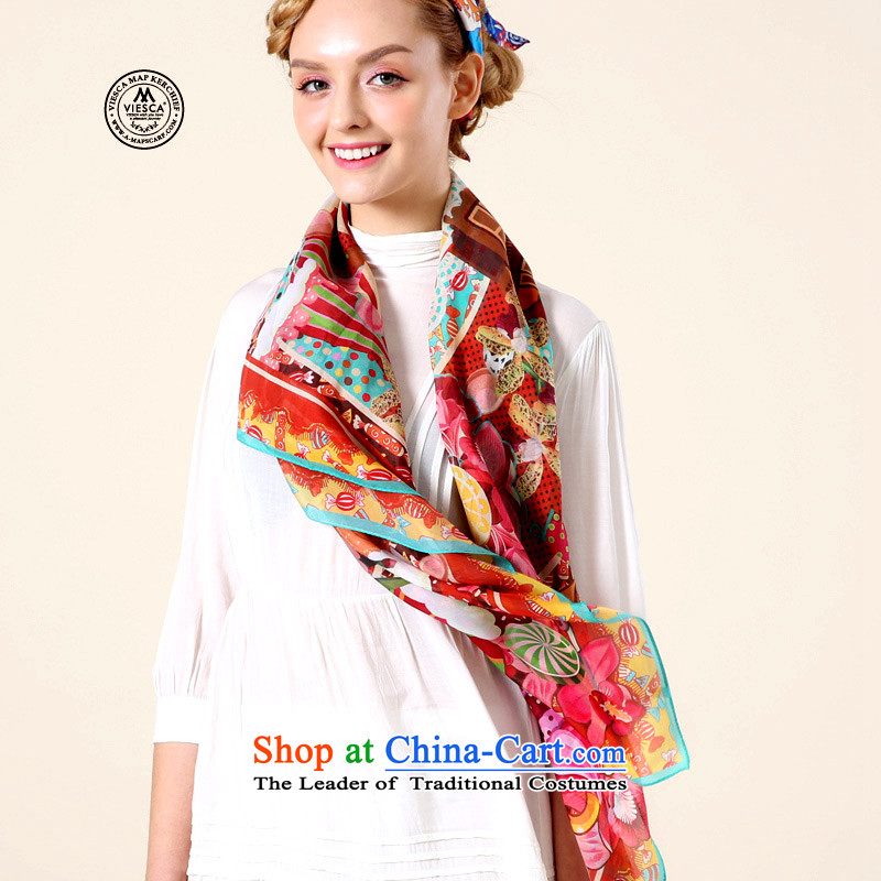 Fun playing聽VIESCA Berlin Germany culture sunscreen silk scarves Teacher's Day Gifts