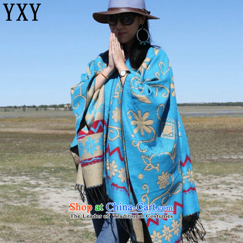 In line cloud retro emulation Ms. pashmina shawl scarf MC004 sunscreen map color