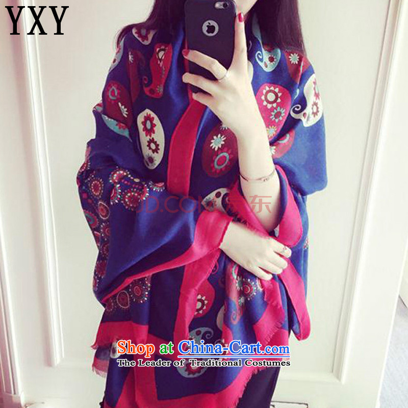 The Cloud's stake of ethnic knocked color personalized cotton shawl retro stamp Fancy Scarf MC038 dual-use map color
