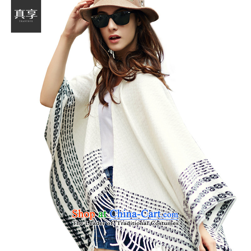 Really enjoy the new Korean 2015 wild large shawl autumn and winter, Outdoor Warm Big wide segments of the scarf W044 Cream