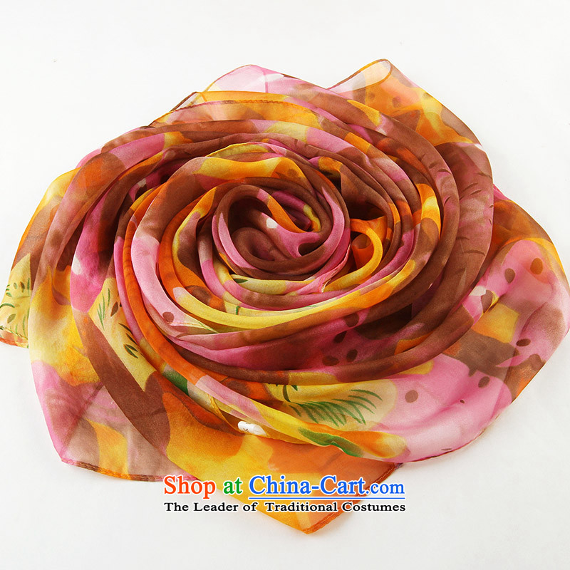 Shanghai Story silk scarves women 2015 new products herbs extract scarf hundreds of thousands toRB12