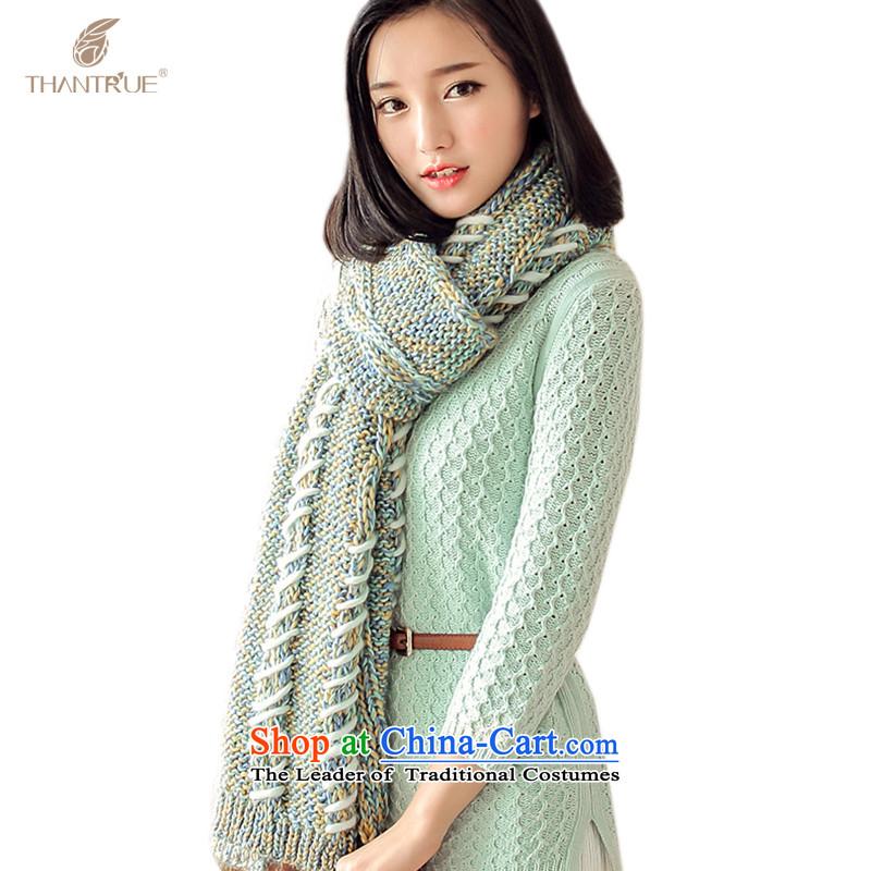 Ms. enjoy true thantrue autumn and winter soft skin care leisure warm-parent folder spend Knitting scarves W046 folder Suit