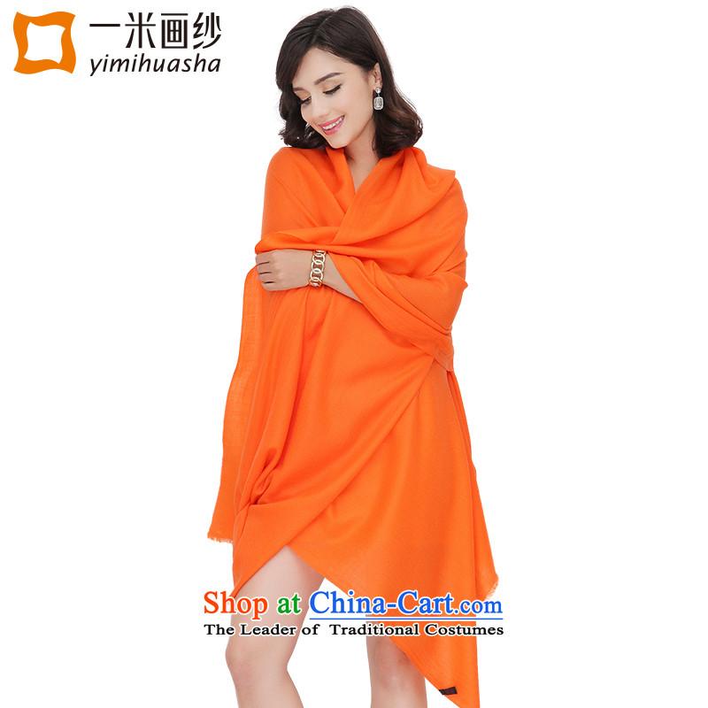 One meter animation wooler scarf yarn, 100 support solid Warm Big a shawl orange