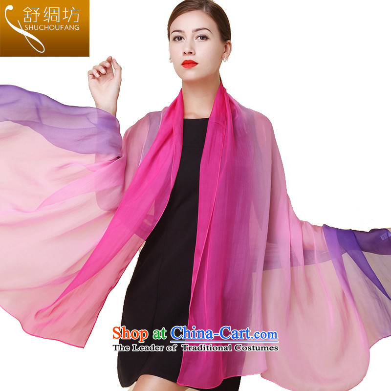 Had to hold workshop on silk Shu upscale silk scarves, gradient silk scarfs silk shawls also sauna Hangzhou long winter spring and autumn-498masks Heather Gradient