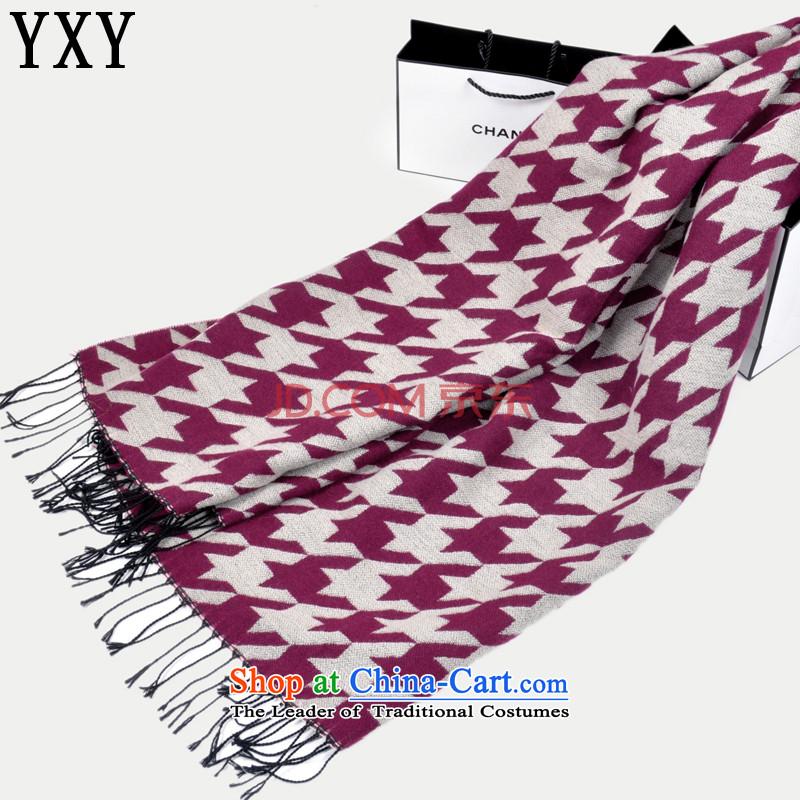 Grid chidori emulation _pashmina shawl stylish men and women the same warm shawl scarf聽MC010聽red