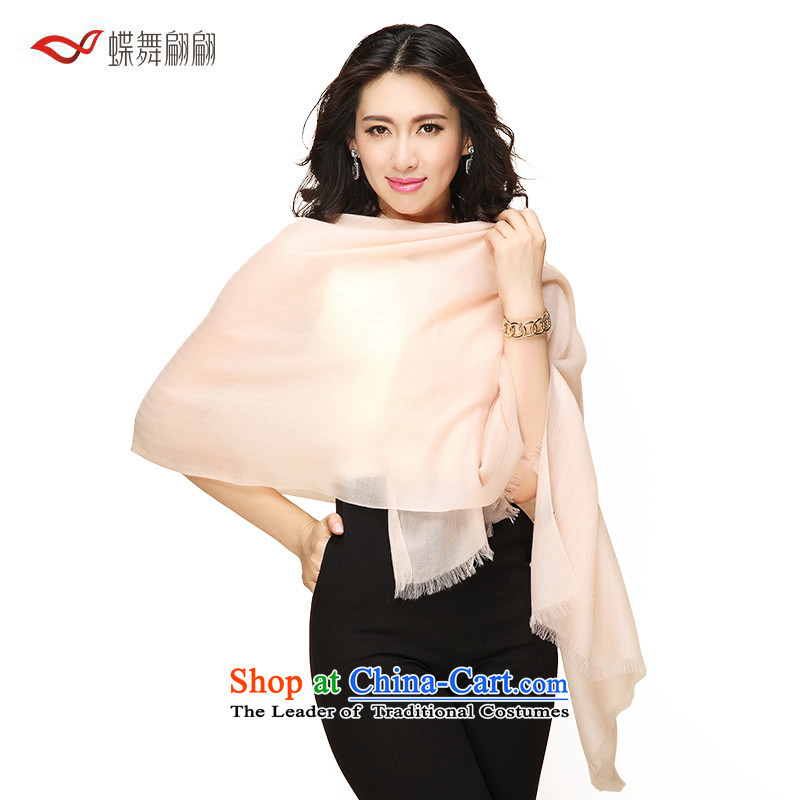 The Butterfly Dance medley of grain fields solid color pashmina female 2015 autumn and winter new warm shawl nude