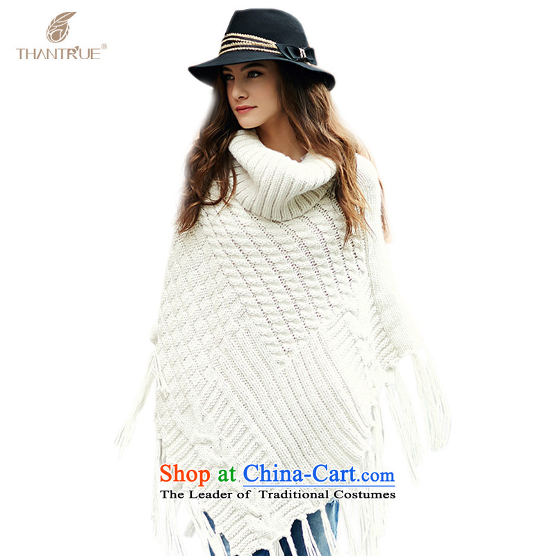 Really enjoy thantrue minimalist women SWEET STREAM Su Knitting scarves W005 Beige