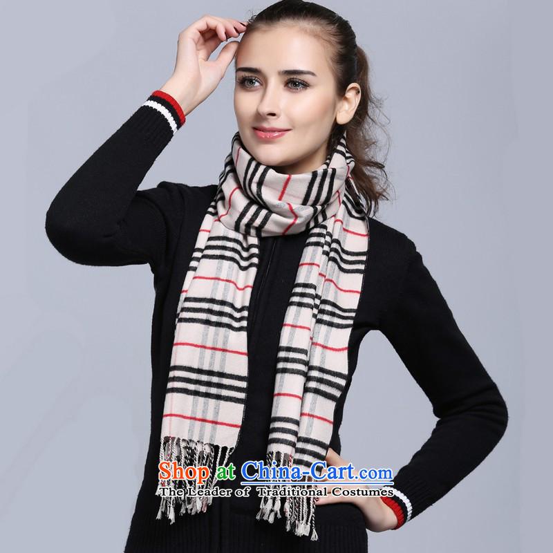 Fallay Shoka genuine autumn and winter, 100% herbs extract latticed silk scarves warm scarf upscale scarf