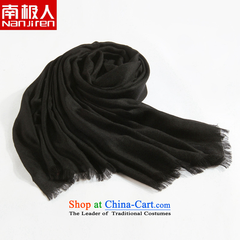Antarctic people fall and winter atmosphere of western color Woman's cashmere sweater new scarves field tattoo wild intensify /pashmina shawl black