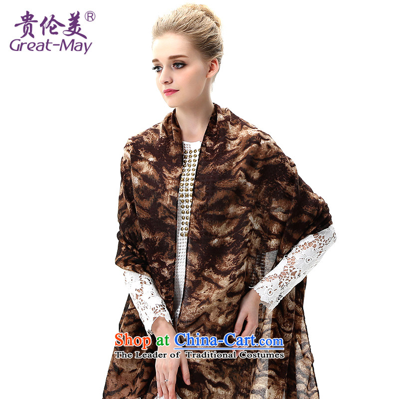 The US military during spring and summer, sunscreen shawl large beach towel seaside long Leopard Stamp silk scarf scarf autumn SJ0049C07A05 girl English thoroughbred Suit
