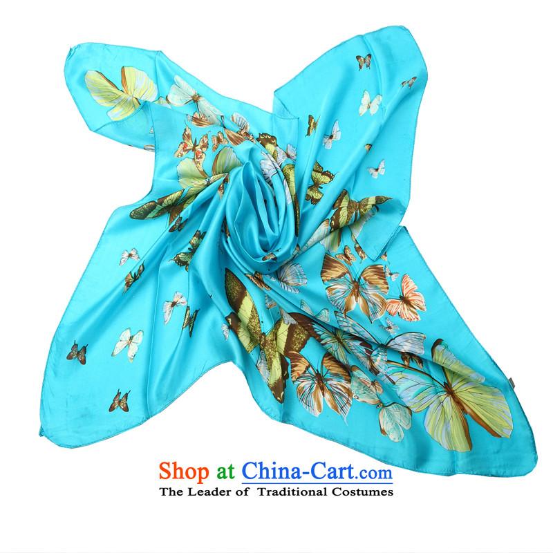 Hengyuan Cheung Silk Satin 90 Dafang dos Santos wave towel Butterfly Dance ZS8042-165# (Boxset)