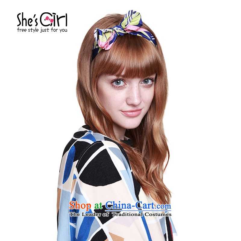 Mrs Ure sub-girl she's accessories humorous color geometry herbs extract silk scarves shawl scarf GSS9519319 B0