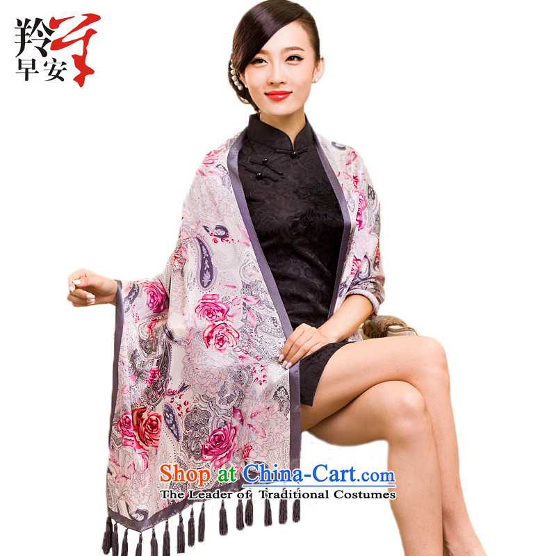 Good morning scarf ironing drill antelope edging pendants silk sauna silk shawls silk scarf flower Ms. will mislead