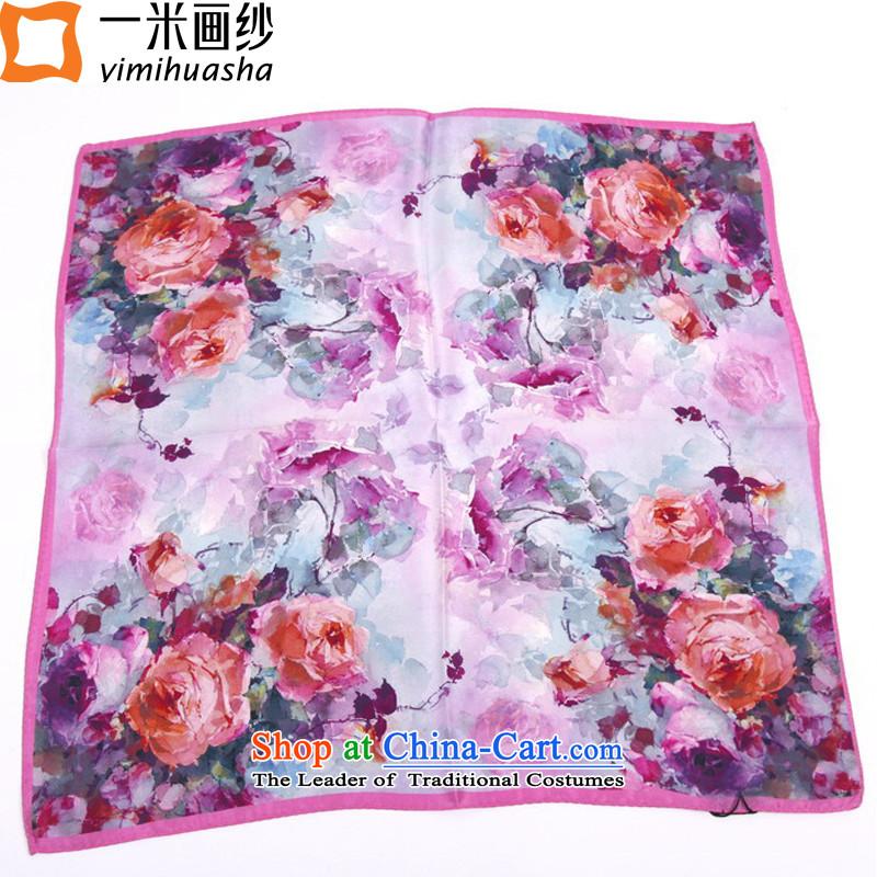 One meter animation yarn herbs extract silk scarf silk scarf scarves small6 color