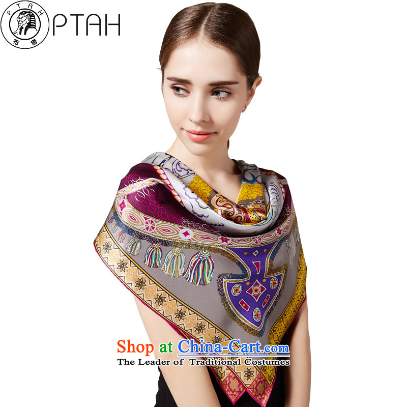 In the spring and summer herbs extract of the tissue and classy women Zou, silk scarfs shawls silk scarf gift4PT245 Purple
