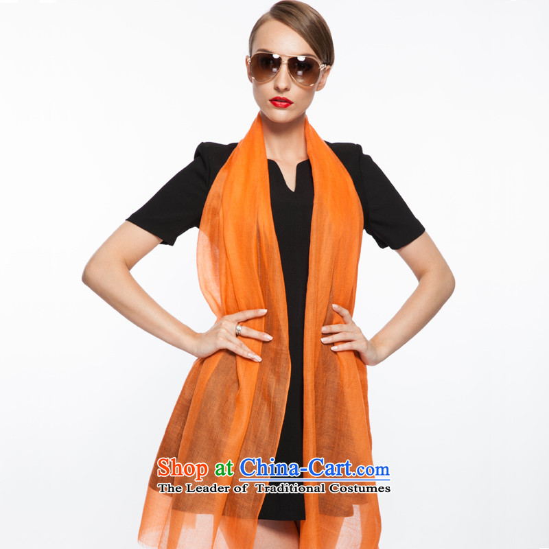Shanghai Story gradient scarf female wooler scarf air-conditioning Fancy Scarf Orange