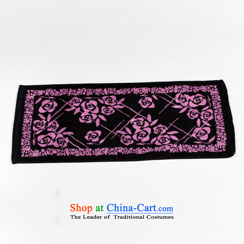Hua Mei Mei, fiber jacquard towel face towels face towels environmental protection without fading comfortable permanent soft natural wood fiber buy one get one free) Mystic Purple