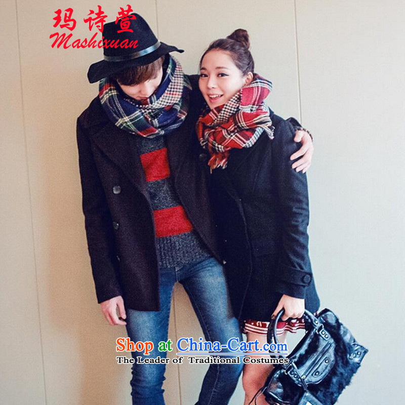 Marguerite. autumn and winter poetry Xuan won the new version of the Emulator Y grid couples, lint-free 2-sided Red Scarf