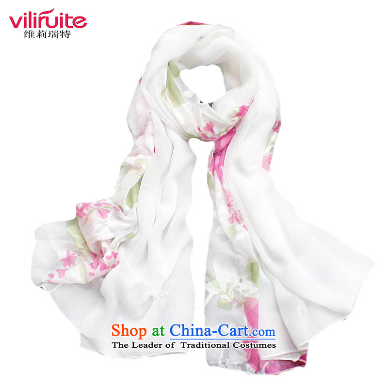 Hangzhou silk yarn silk scarf Gittoes, autumn and winter snow filature towel shawl scarves long white masks in the red-white in a gift box red