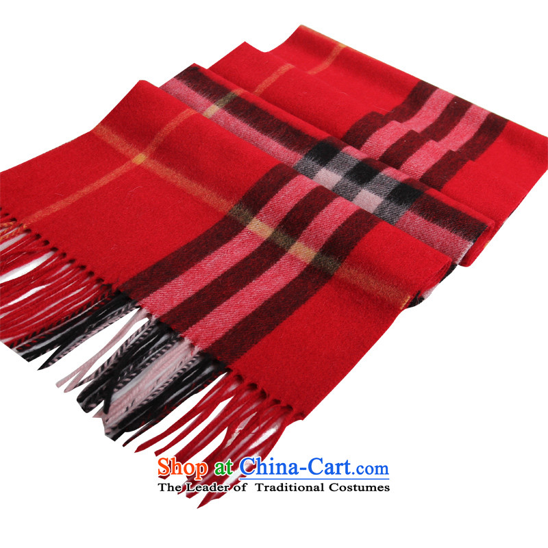 Shanghai Story autumn and winter wooler scarf thick warm lamb wool quilts Fancy Scarf of large wire red