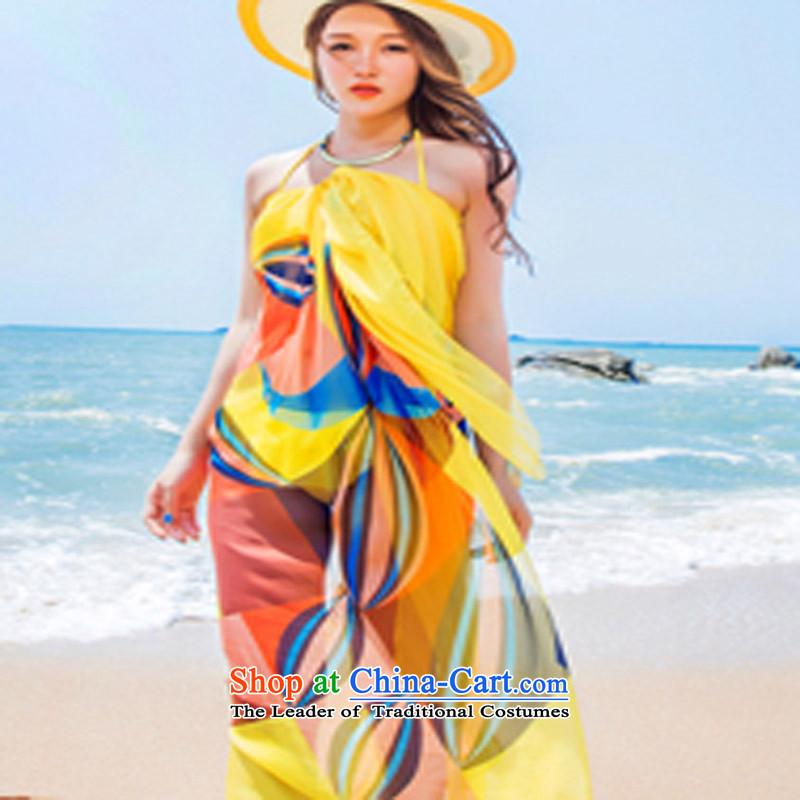 Spring, Summer, Autumn and winter korea heavy snow filature towel Korean president sunscreen large shawl beach scarf189 Huang