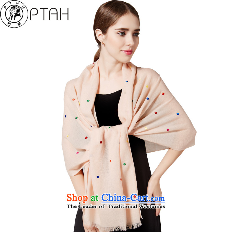 Buta wool Fancy Scarf Thick Long autumn and winter stylish Bohemia women with scarves wave point m white silk scarf