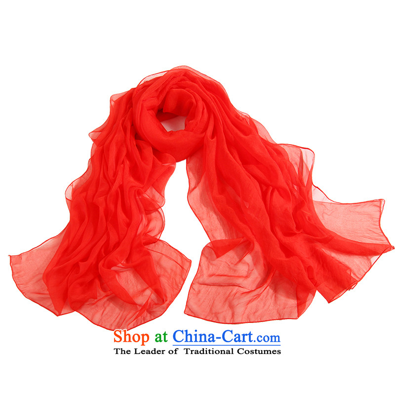 Shanghai Story silk scarves solid color herbs extract shawl scarf female autumn and winter warm-ups. A large red, Shanghai Story STORY IN SHANGHAI) , , , shopping on the Internet